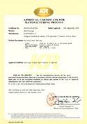 Certificado koreano