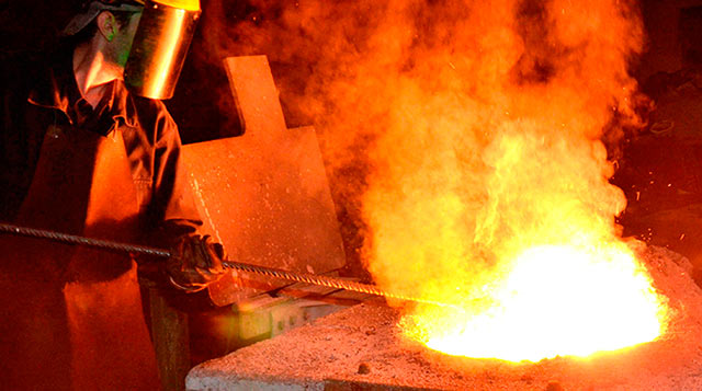 Gießerei-Industrie-Teile